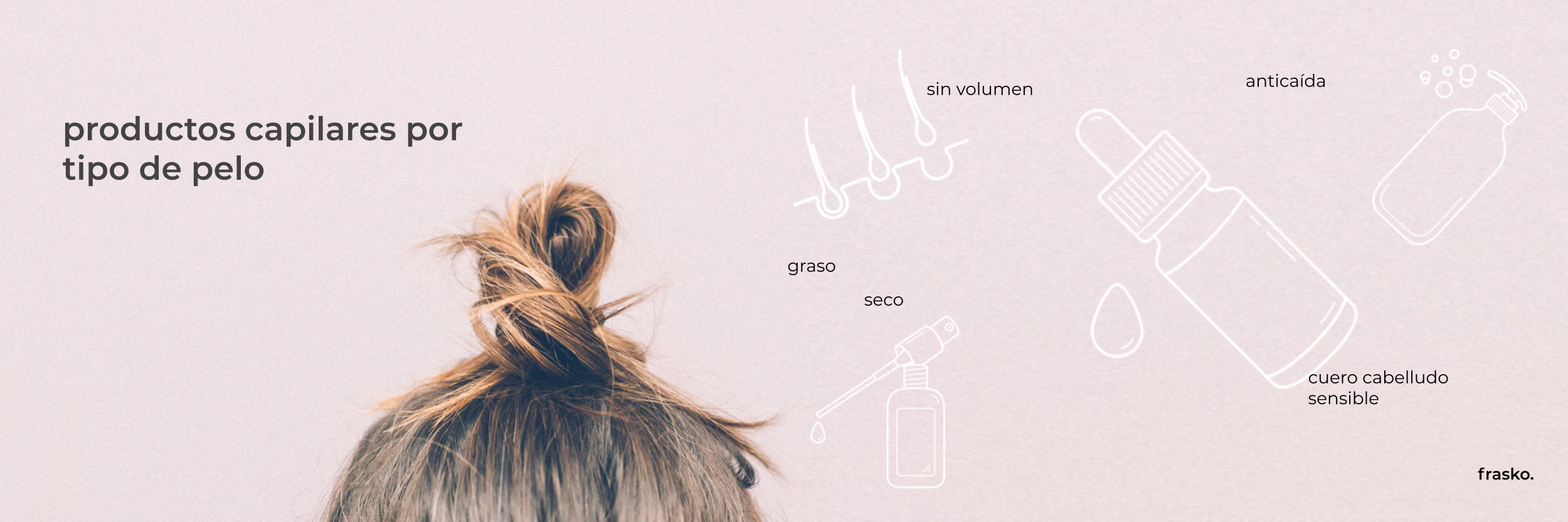 Cuidado capilar por tipo de pelo